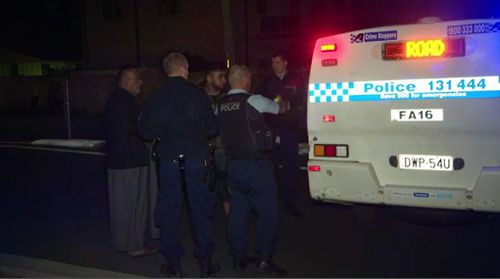 The victim's two sons were arrested, but later released by police. Picture: 9NEWS