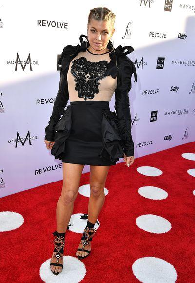 Singer Fergie.