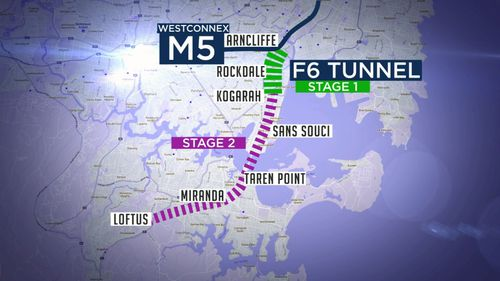 The F6 motorway will be allocated hundreds of millions of dollars in next week's NSW Budget.