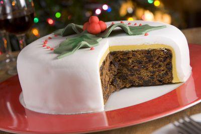 <strong>Christmas cake</strong>