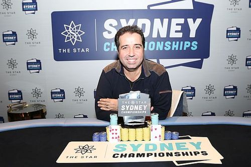 Warwick Mirzikinian is well-known for featuring on the Australian poker circuit for almost a decade. (Supplied)