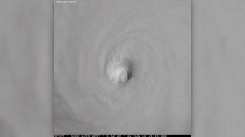 Hurricane Lane on its way to Hawaii.