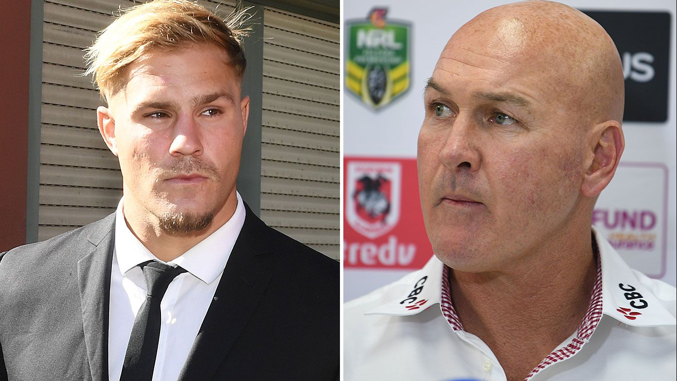 'Frustrated' Dragons coach Paul McGregor anxiously waiting for cap relief