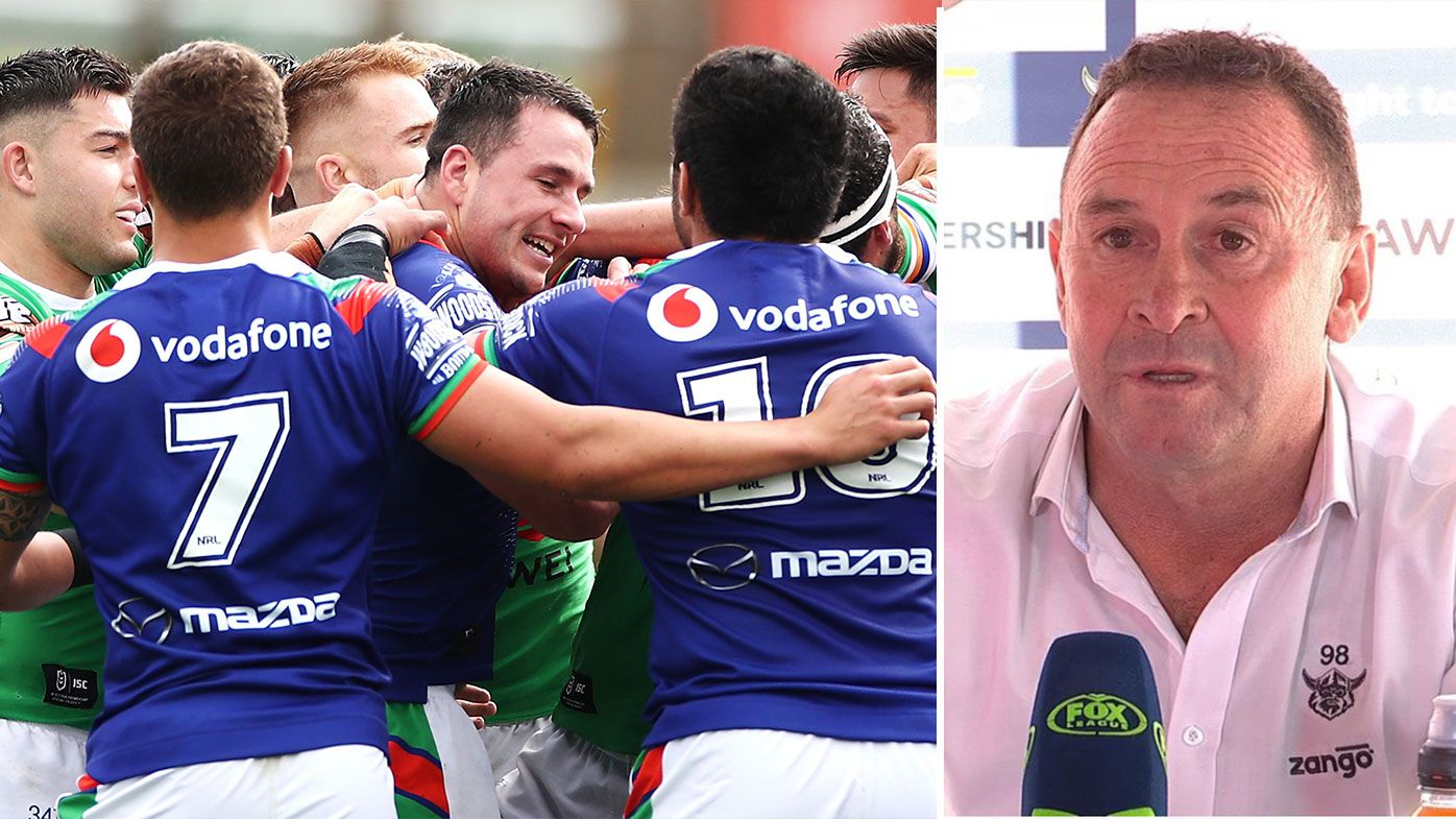 Raiders coach Ricky Stuart savages standard of NRL and refereeing