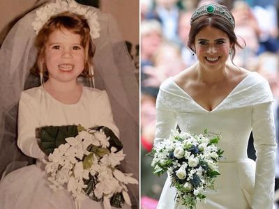 Princess Eugenie's adorable throwback, March 2019