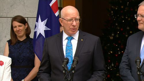 General David Hurley will be Australia's next Governor-General.