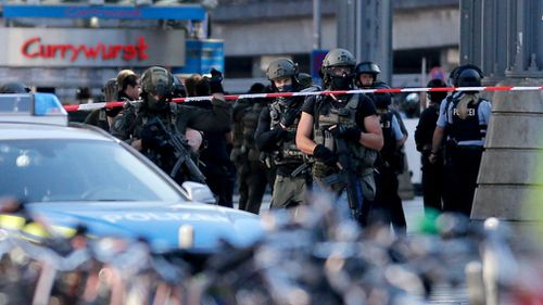 German train station shut down after woman taken hostage
