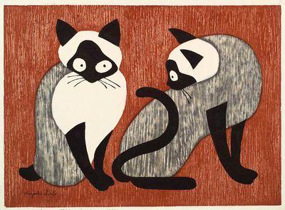 The Siamese Cats, Kiyoshi Saito (1954)