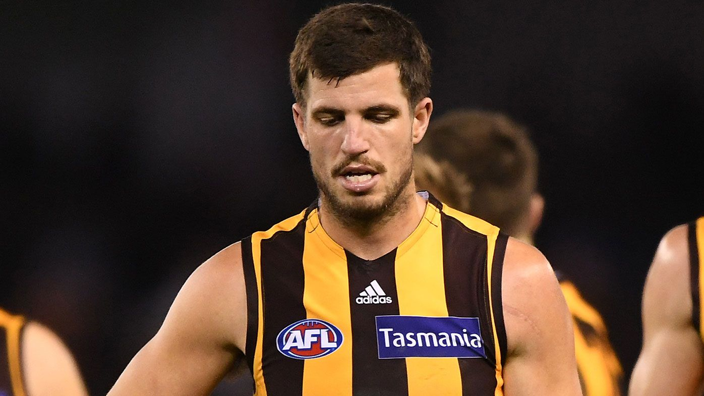 Hawthorn captain Ben Stratton remorseful for controversial pinching incident