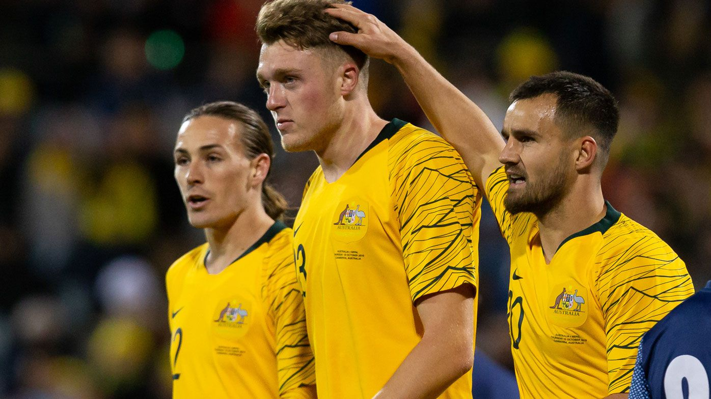 The Socceroos will face Japan in their World Cup qualification path.