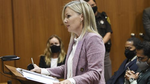 Oakland County Prosecutor Karen McDonald addresses the court to drop all charges against Juwan Deering.