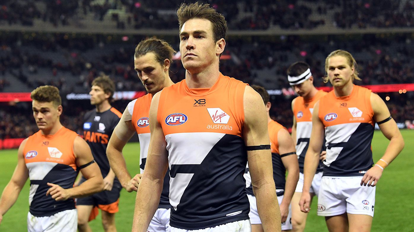 Coleman Medal leader Jeremy Cameron a late scratch for GWS Giants ahead of Sydney derby