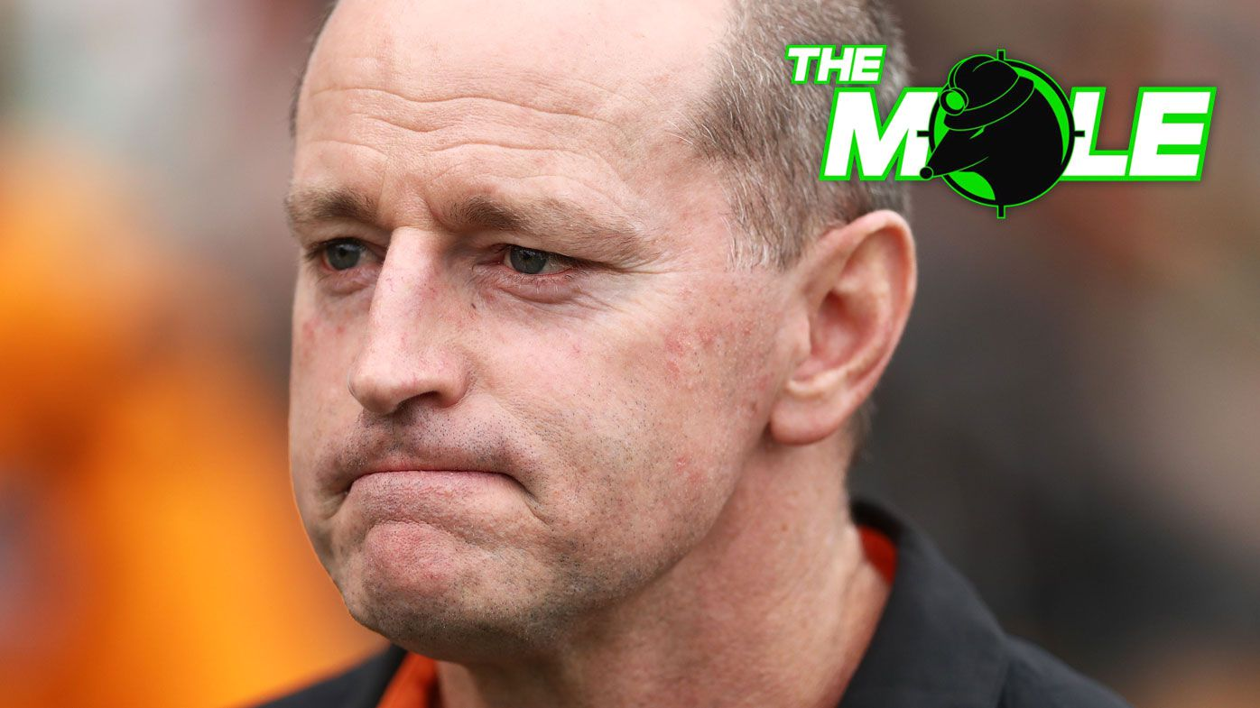 The Mole: Huge problem in stand-off between Michael Maguire and Wests Tigers
