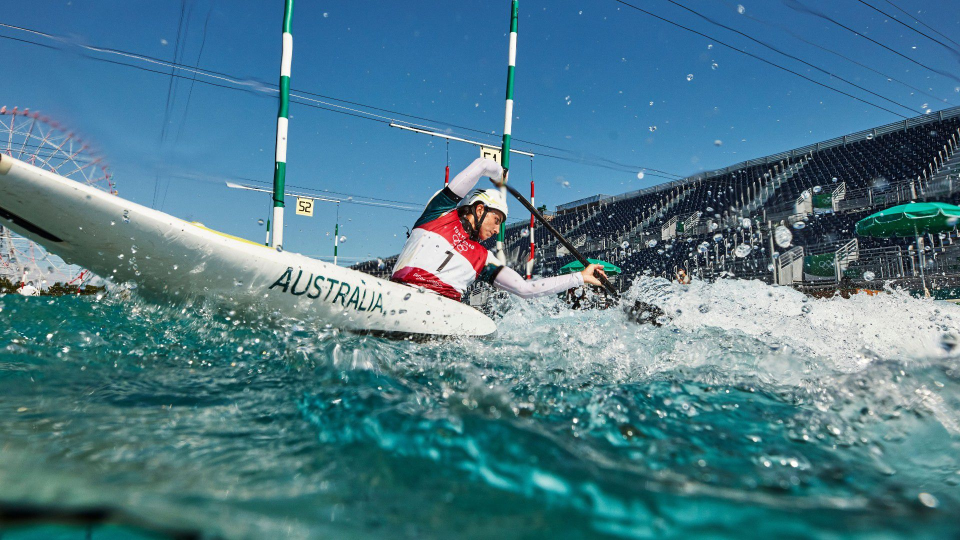 Fox in battle with German rival for kayaking gold