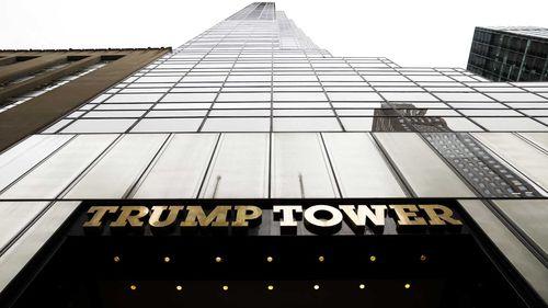 Trump Tower. (AAP)
