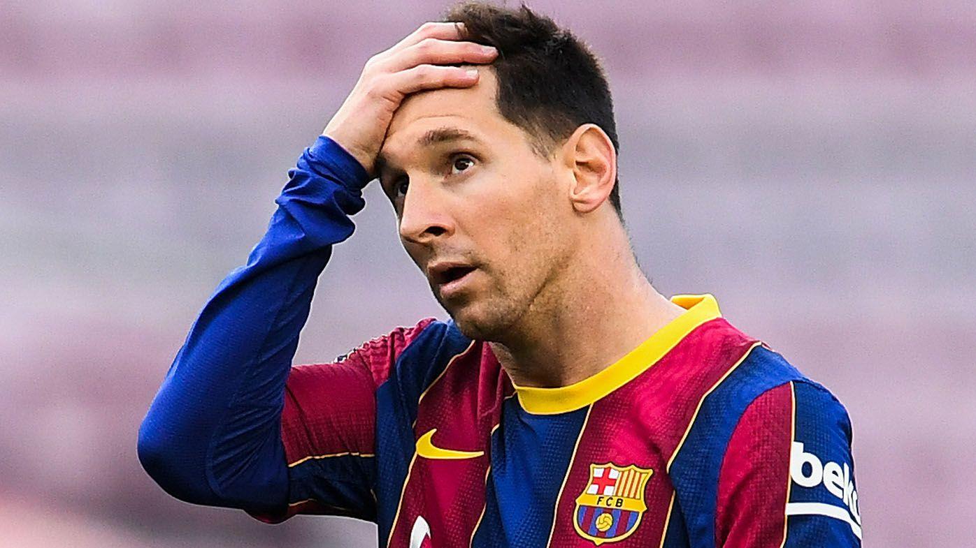 Lionel Messi's $218m per season Barcelona contract ends, with no news on future