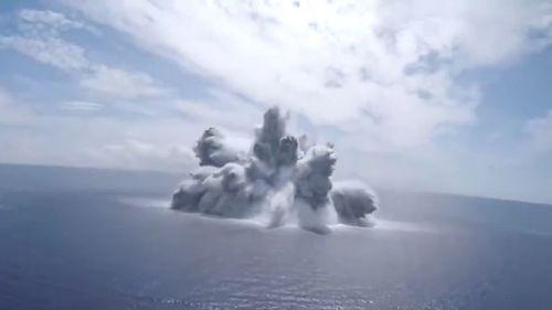 Navy explosion