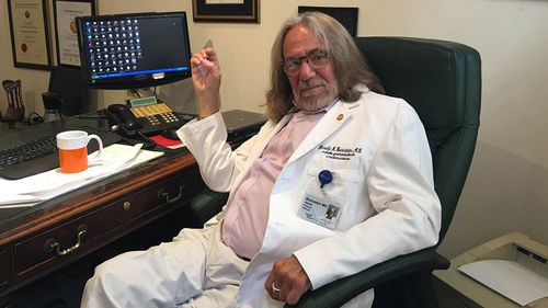New York physician Harold Bornstein has recently revealed he did not back up the contents of the letter. (Twitter)