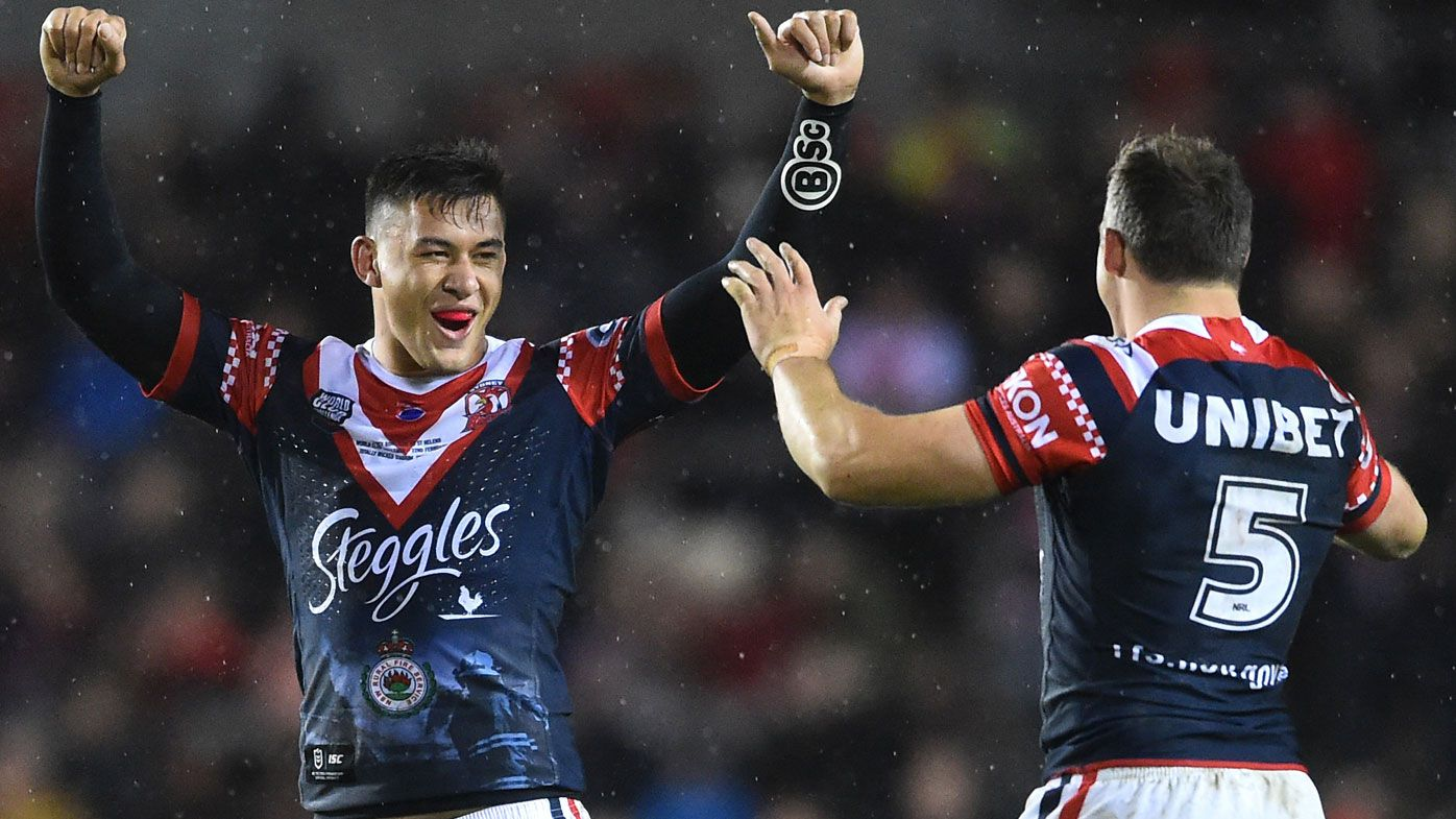 Sydney Roosters beat St Helens in World Club Challenge, as Joey Manu scores double