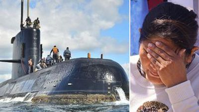 'Explosive' sound heard in search for missing submarine