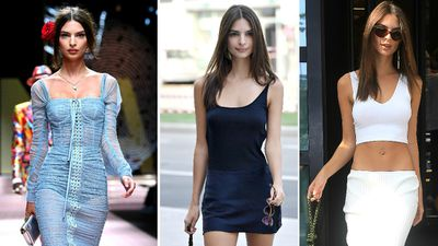 Emily Ratajkowski stunned on and off the runway during fashion month this year.