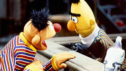 Mainstream media finally decides to kick up a stink about Bert from Sesame Street being gay