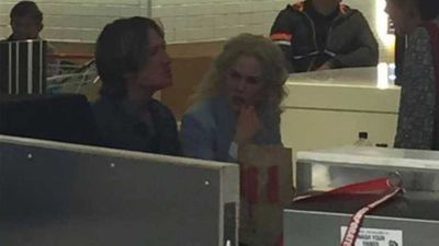 Nicole Kidman and Keith Urban spotted dining at KFC