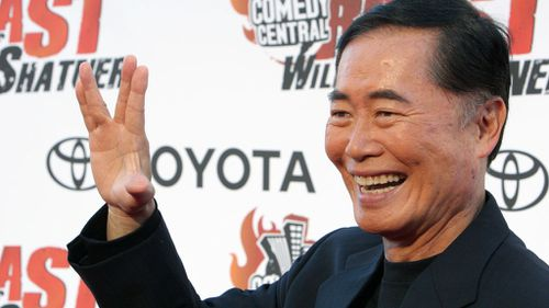 Actor George Takei, pictured in 2005, has been accused of drugging and sexually assaulting a former model in the 1980s (AP)