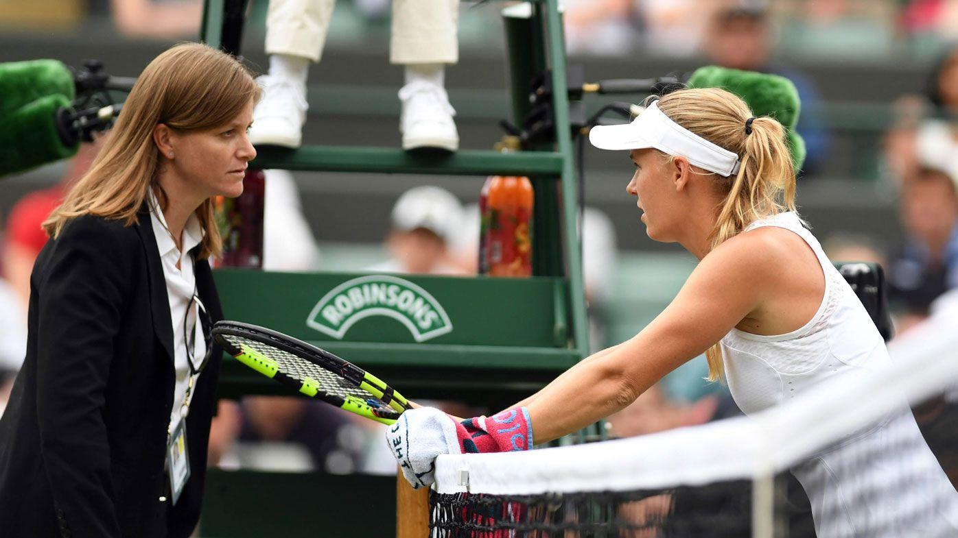 Wimbledon 2018 wrap day three: Wozniacki battles bugs during shock exit, Federer, Williams cruise through to third round