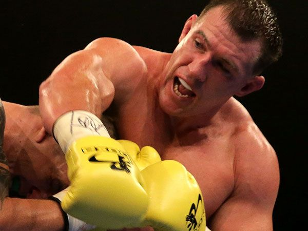 Paul Gallen. (Getty-file)