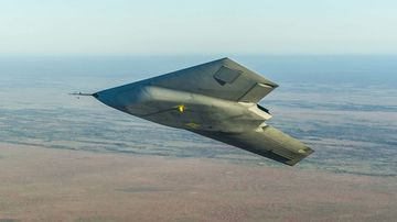 The BAE Taranis is an unmanned drone said to be capable of reaching speeds over 1100km/h.