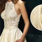 'Disgusting' hidden detail on wedding dress causes online meltdown