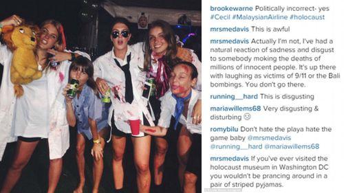 Shane Warne's daughter Brooke under fire over 'disgusting' Instagram photo