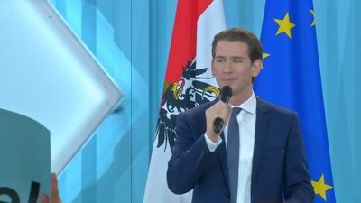 Protests as Austria swears in Europe's youngest leader
