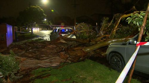 Tens of thousands of people were left without power overnight.