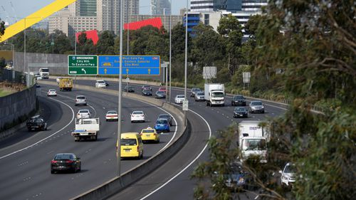 Construction on the projected line should begin by 2020 and is planned to ease congestion as around 60 million passengers are expected to use it by 2030. Picture: AAP.