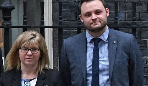 Ben Bradley and Maria Caulfield warn that May's plans for close links with Europe after Brexit risk handing Jeremy Corbyn the keys to 10 Downing Street. Picture: Supplied