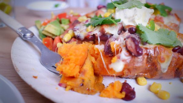 9Honey Quarantine Kitchen: Ultimate loaded sweet potatoes