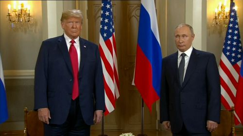 The summit consisted of one-on-one talks, a lunch with aides and a joint press conference. Picture: AP