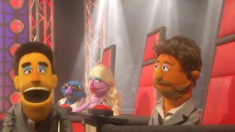 Watch: <i>Sesame Street</i> does <i>The Voice</i>