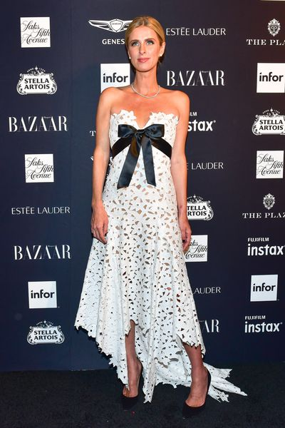 Fashion designer Nicky Hilton at the Harper's Bazaar Icons party in New York, September, 2018