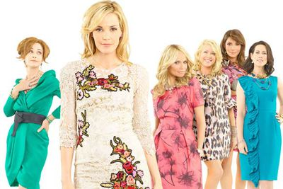 """<b>What's it about? </b>Amanda (Leslie Bibb) returns to her hometown, Dallas, after her marriage collapses, only to encounter a clique of mean Christian ladies.<br/><br/><b>Hit or bomb? </b>Hit. Originally titled <i>Good Christian Bitches</i>, the series was renamed so as to not jeopardise its status as """"the new <i>Desperate Housewives</i>""""."""