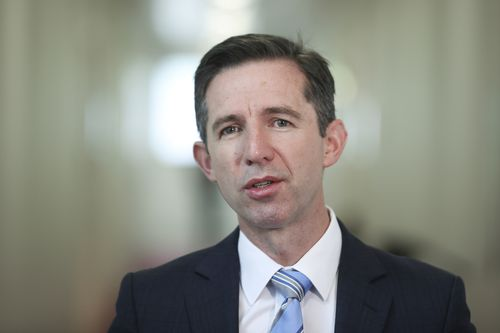 Minister for Trade, Tourism and Investment Simon Birmingham in Canberra last month.