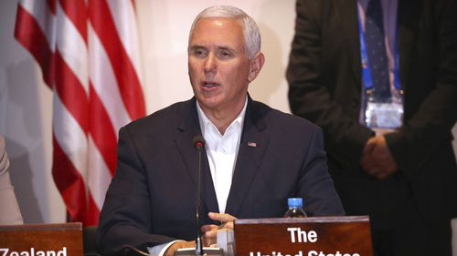 Vice-President Mike Pence is representing the US at APEC.