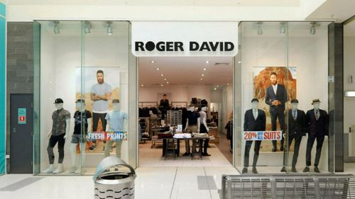 Struggling clothing retailer Roger David announced it is closing its 57 stores before Christmas