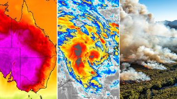'Horror' heat, fire, and a cyclone