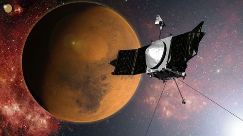 NASA's MAVEN spacecraft enters Mars orbit