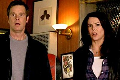 <B>The couple:</B> Though actors Lauren Graham and Peter Krause knew each other for years before they hooked up, they didn't <I>officially</I> get together until after they started playing <I>Parenthood</I> brother-and-sister Sarah and Adam Braverman.