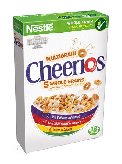 <strong>Cheerios (7.3 grams of fibre per 100 grams)</strong>