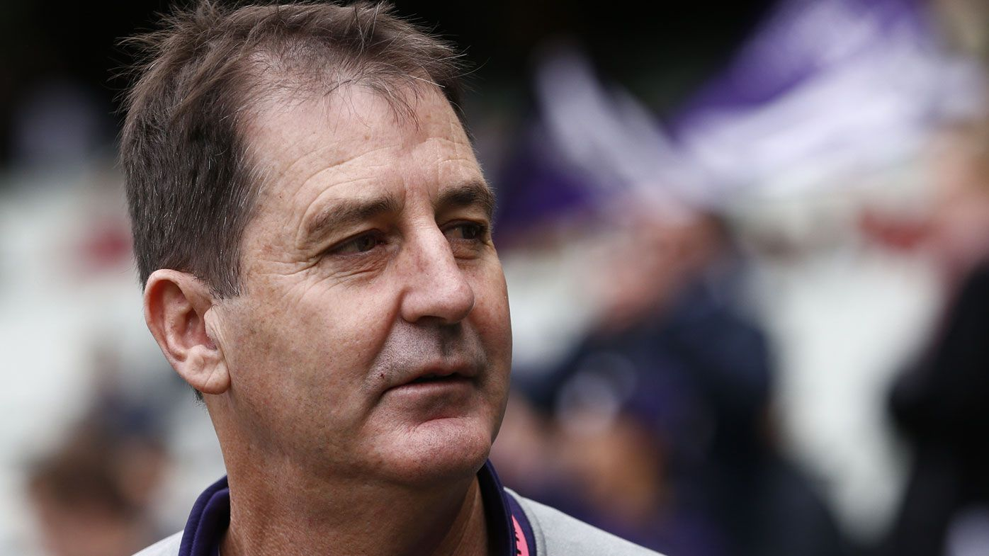 Sacking Ross Lyon was wrong call from Fremantle, says Nick Riewoldt